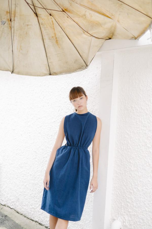 Seeker Studios Convertible Overall Dress - Indigo