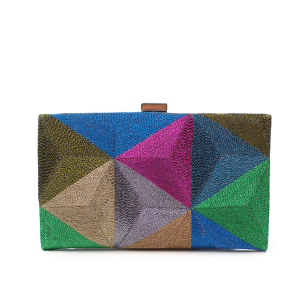Anne Grand-Clément Playtime Scarabeo Petite Framed Clutch
