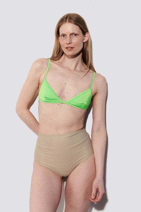 NU SWIM Yes Top - Lime