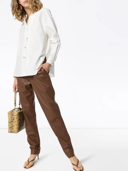 LVIR Collarless Cotton Shirt