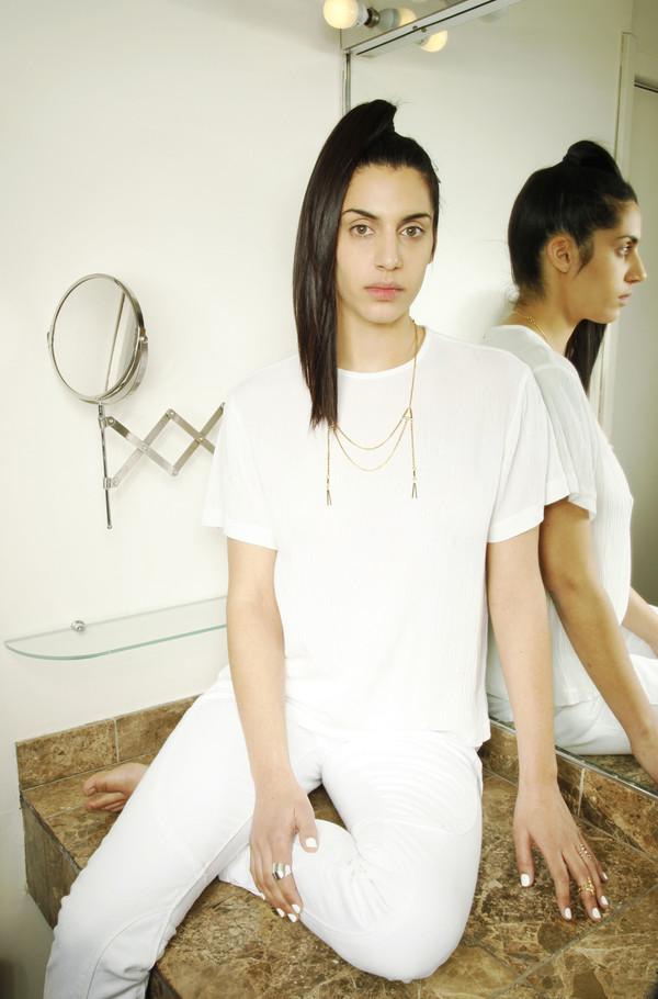 ALYNNE LAVIGNE - Double Tassel Necklace