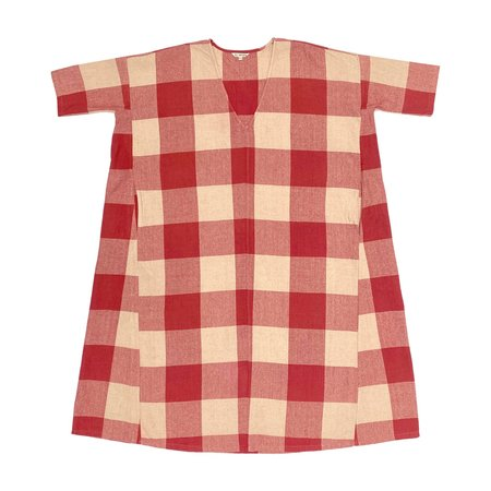 Ali Golden FULL DRESS W/ POCKETS - RASPBERRY GINGHAM