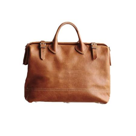 Forestbound Leather Mason Bag - Brown