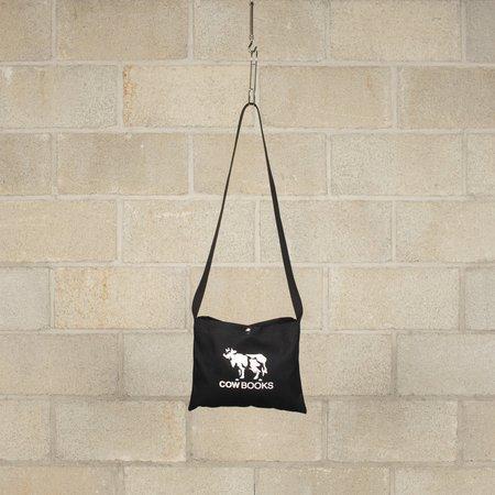 COW BOOKS Canvas Sacoche - Black