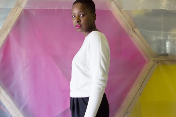 Valérie Dumaine Nova Top (Ivory)