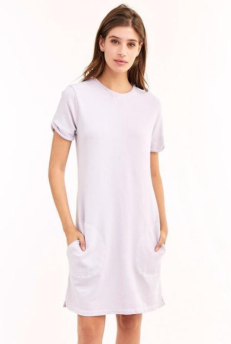 LA Made Ari Dress - Lilac Cloud