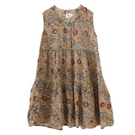 kids nico nico evelyn tiered dress - wilde
