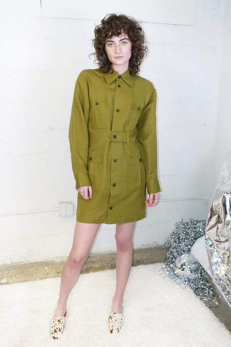 Mara Hoffman Ino Dress - Olive