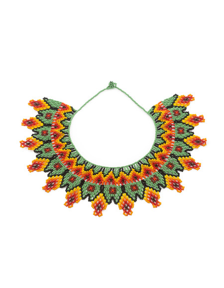 C O N D O R Columbian Beaded Collar
