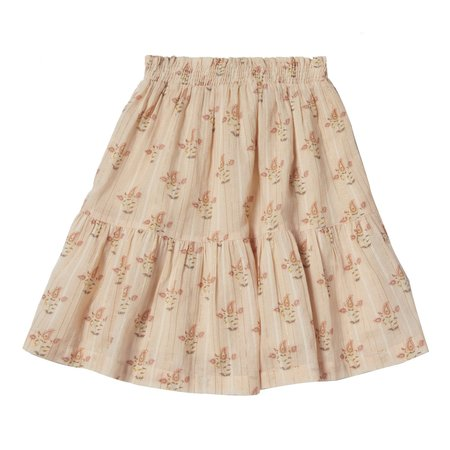 kids bonheur du jour ambre skirt - nude