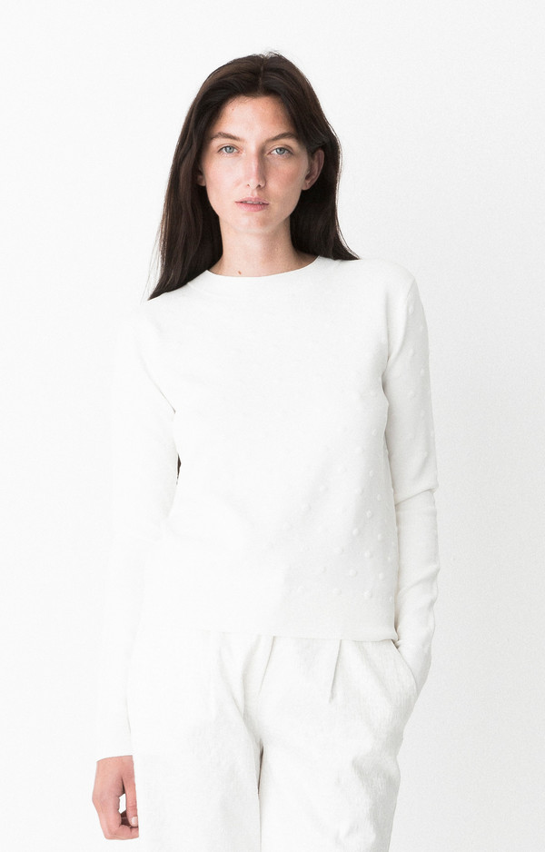 "Storm + Marie Storm and Marie ""Ultima"" Lightweight Textured Sweater"
