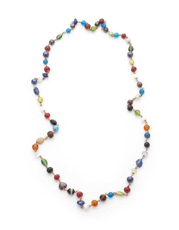 MURANO GLASS BEADED NECKLACE