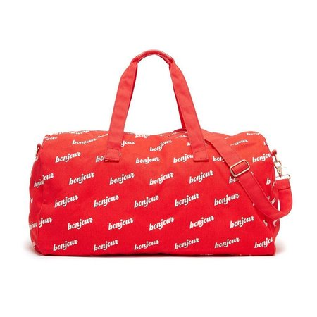 BAN.DO Bonjour Duffle Bag - RED