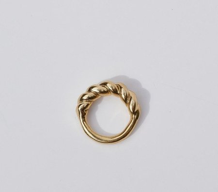 Luiny Interlaced Ring - Brass
