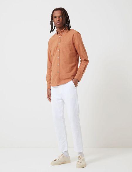 Portuguese Flannel Belavista Shirt - Brick