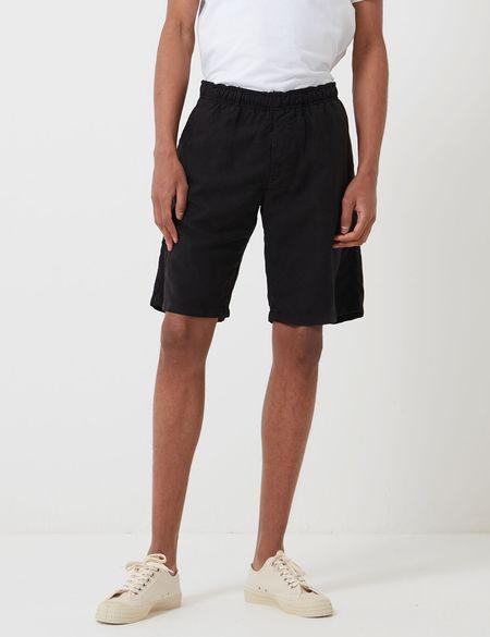 Edwin Chiba Short - Black Garment Dyed