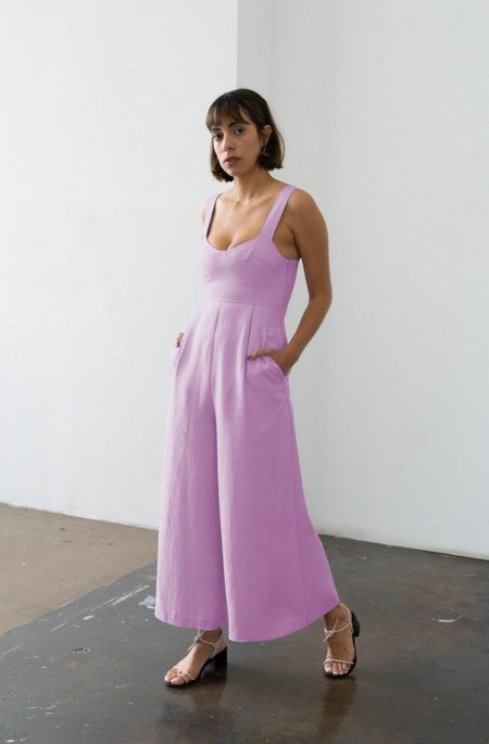 Waltz Bralette Jumpsuit - Blossom