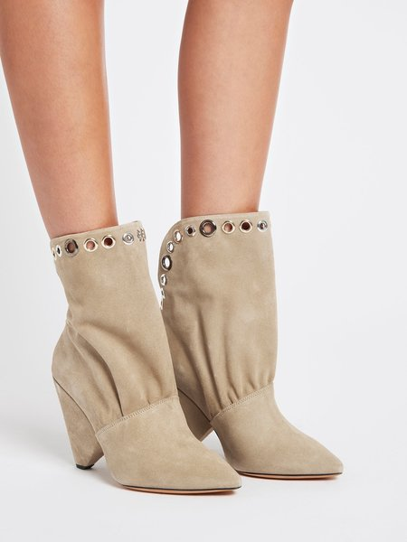 IRO Sudeka Boots - light khaki