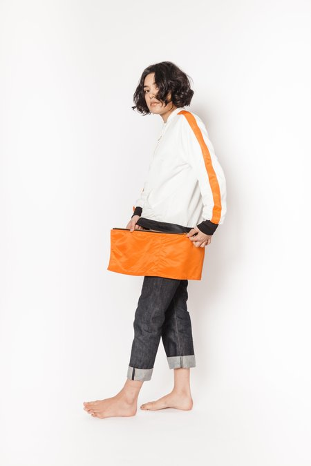 La Bete white bomber - orange/black