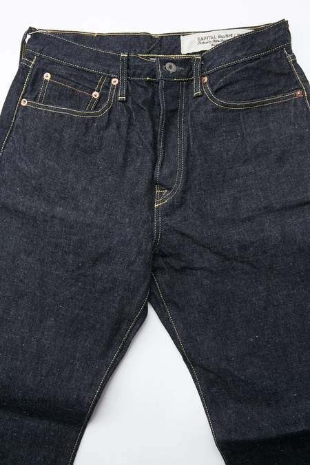 Kapital 14 oz. Denim 5P MONKEY CISCO Jeans - One Wash