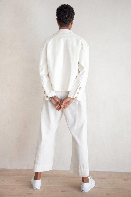 Ali Golden Cropped Jacket