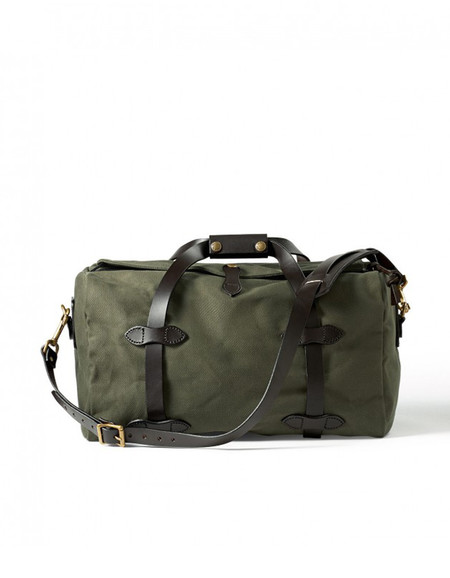 Filson Rugged Twill Small Duffle - Otter Green