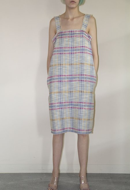 No.6 Rita Dress - Coco Multi Plaid