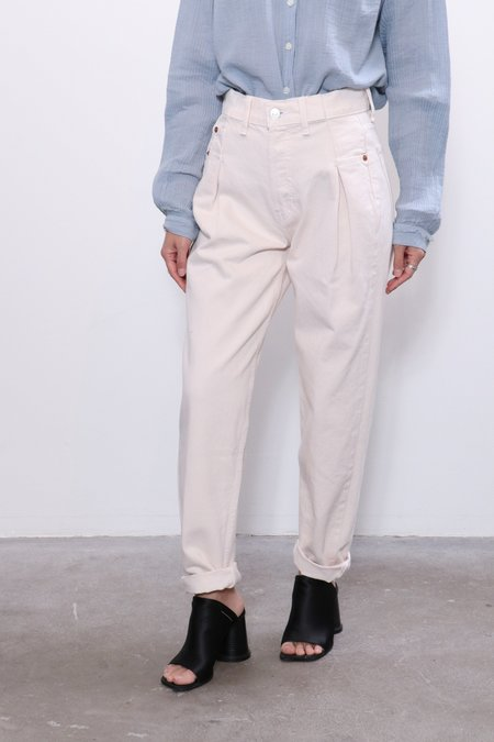 Re/done 40s Zoot Jean - Vintage White