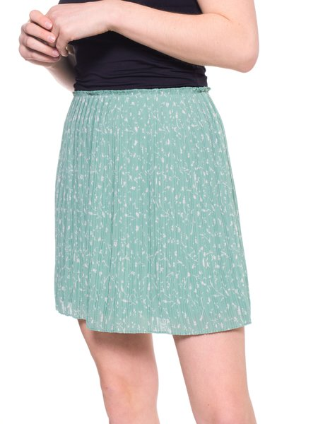 Samsoe & Samsoe Lia Short Skirt - Feuilles Menthe