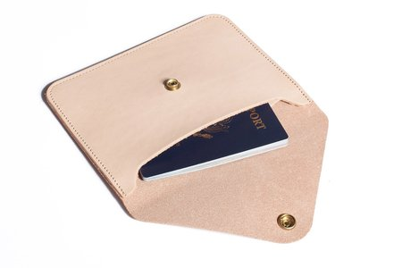 Joshu+Vela Passport Wallet - black
