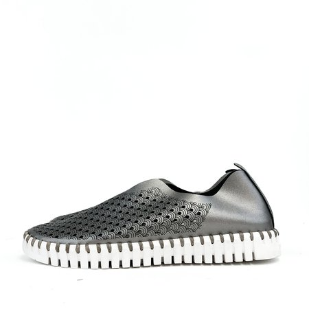 Pattino Shoe Boutique Ilse Jacobsen Tulip Sneaker - Metal