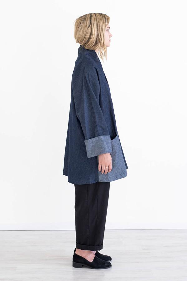 REIFhaus Yoko Jacket in Indigo Denim