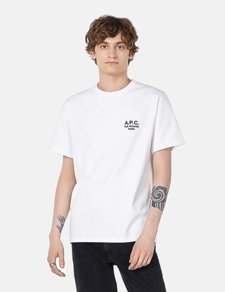 A.P.C. Raymond Embroidered T-Shirt - White