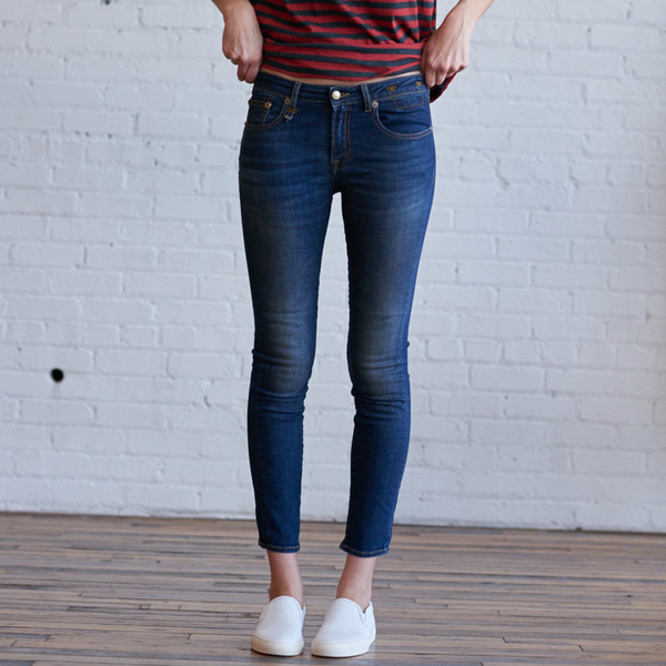 R13 Kate Skinny Vintage Indigo