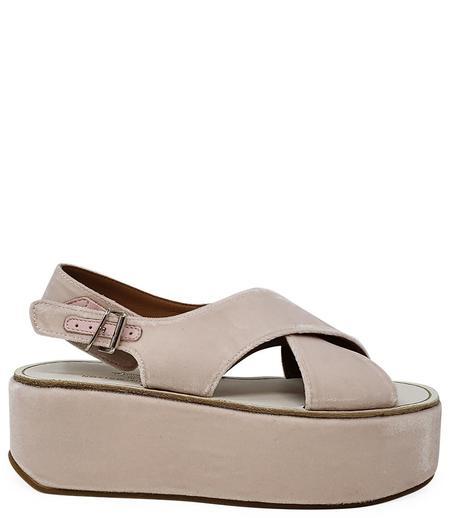 Madison Maison by Flamingos Open toe Wedge Sandal - Pink