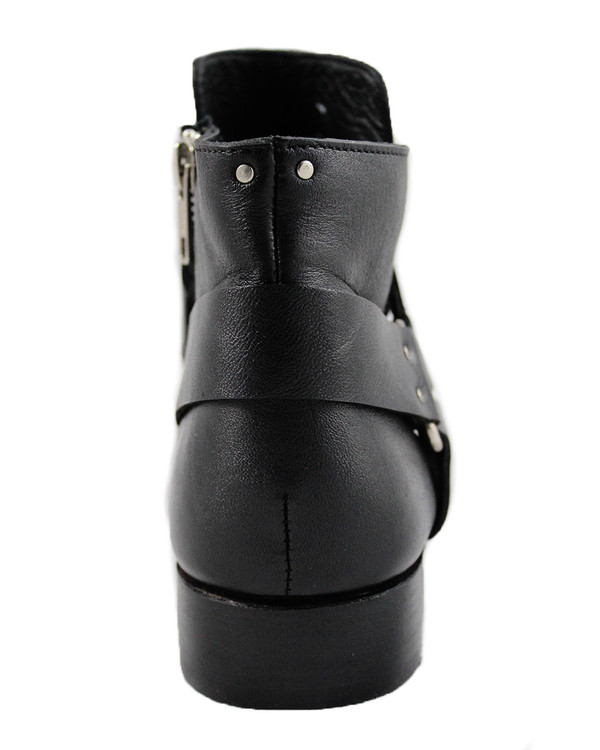 Cartel Footwear AW16 Harness Boot - Minas Black Leather