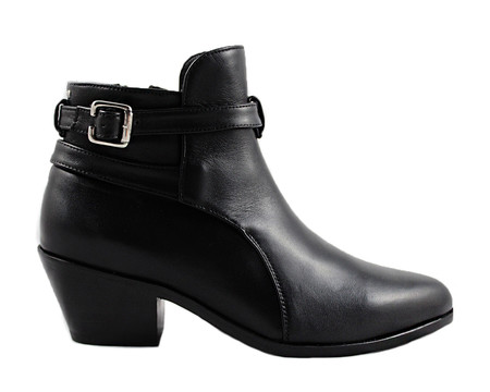 Cartel Footwear AW16 Jodphur Boot - Bella Black Leather