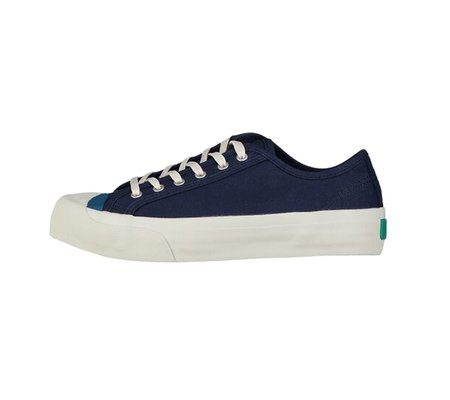 You Must Create Colour Toe Wing-Tip Trainer - Navy