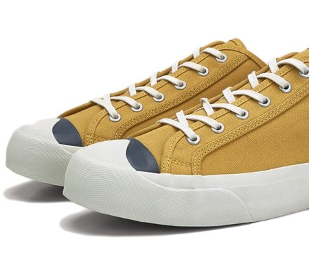 You Must Create Colour Toe Wing-Tip Trainer Yellow