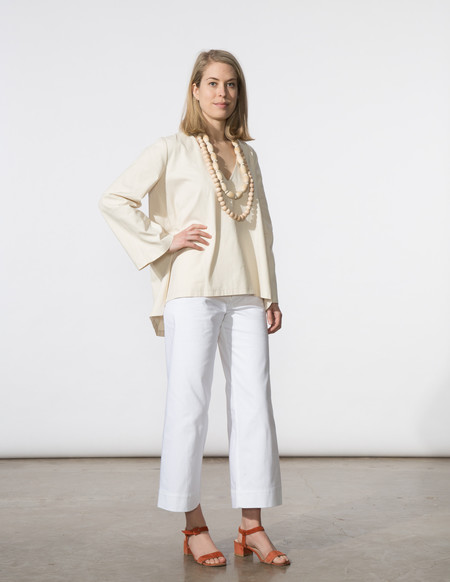 SBJ Austin Pamela Top - Cream