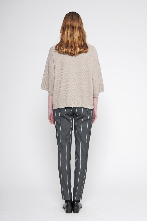 "Diarte ""Laura"" 3/4 Bell Sleeve Merino Sweater"