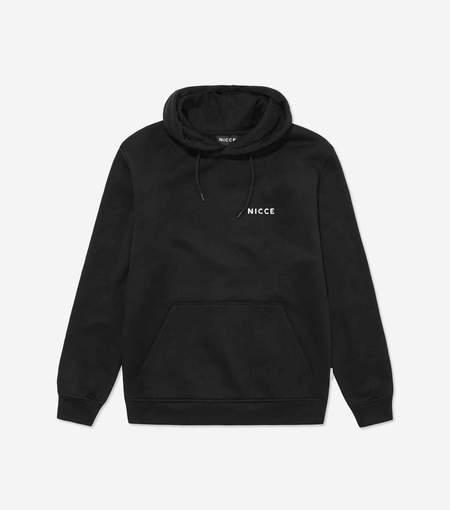 Nicce Chest Logo Hoodie - Black