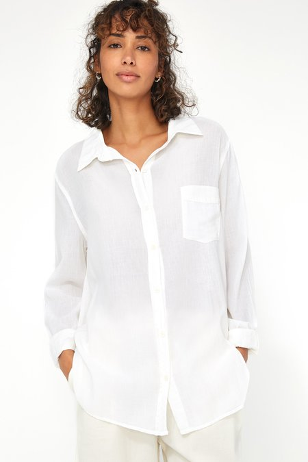 Lacausa Super Fine Nash Button Up - Moon