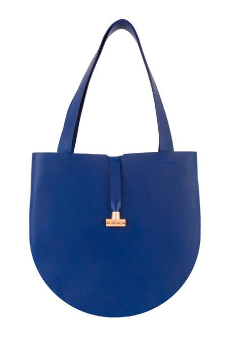 Gag Bag O Bag - Indigo Leather