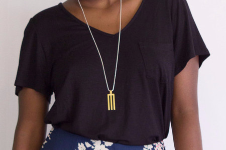 Natalie Joy Tri Line Necklace