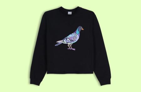 Lb2 Studio Pigeon Crop Sweater