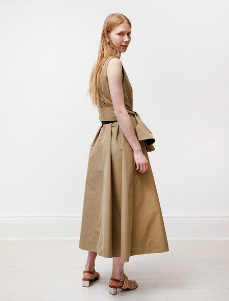 Kamperett Laver Reversible Dress - Black/Camel
