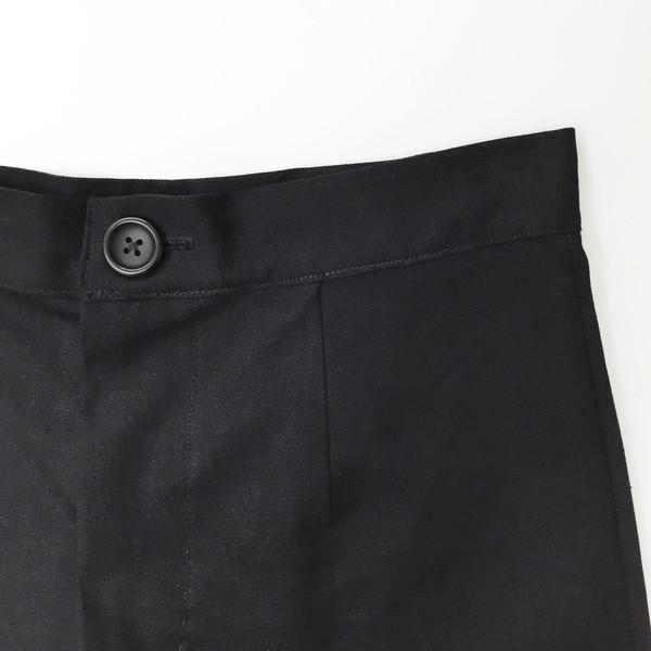 Laurs Kemp Black Wide Leg Crop Pant
