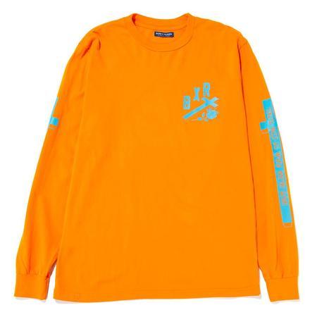 Born x Raised You'll Miss Us Longsleeve T shirt - Orange