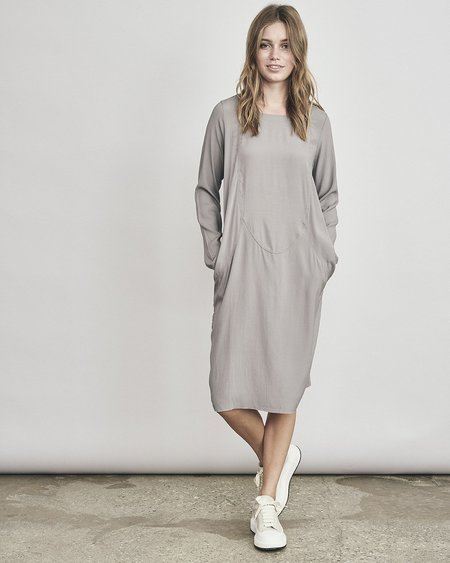 Kristensen du Nord Silk Dress - Mud